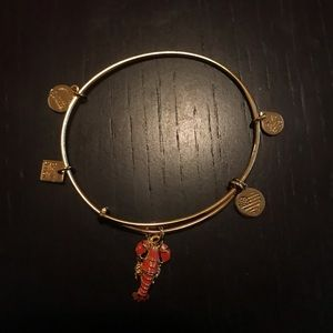 Alex and Ani Lobster Charm Bracelet